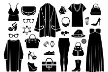 Fashion icons Clothing & accessories