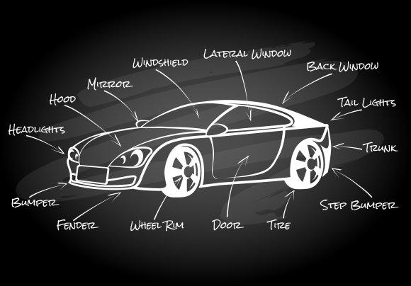 Car parts ~ Graphics ~ Creative Market