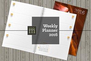 Weekly Planner 2016 (WP01)