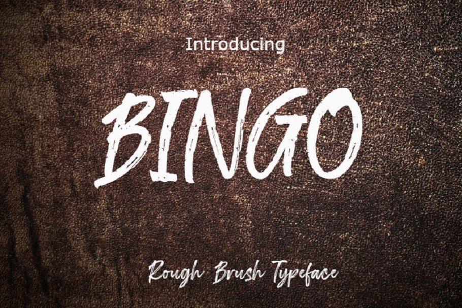 Bingo Font