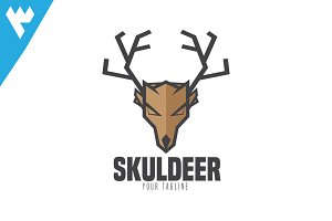 Deer Paper Craft Logo