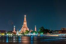Wat arun also call temple of dawn