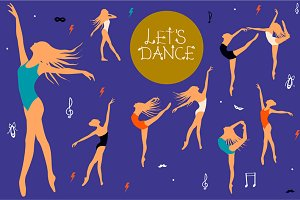Let's Dance Illustration Kit
