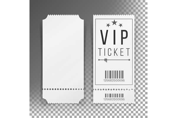 Blank Ticket Template from images.creativemarket.com
