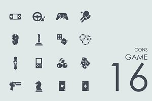 16 Game icons