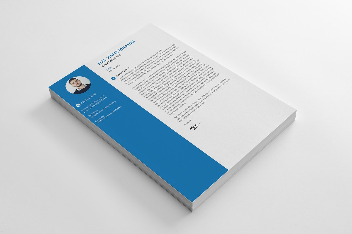 Clean Resume/CV in Resume Templates - product preview 1