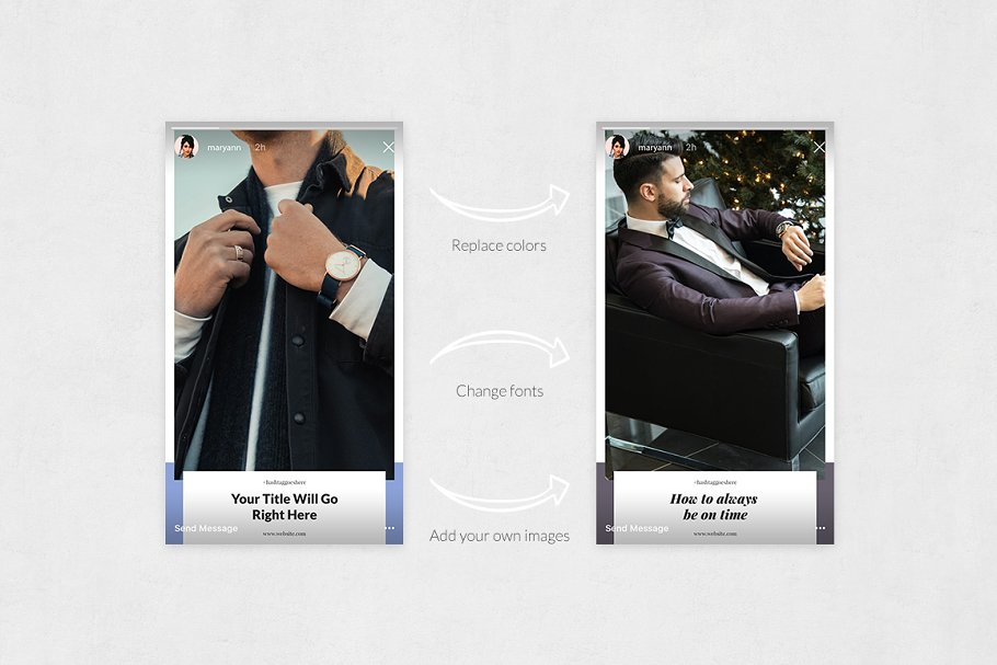 Boss Life Animated Instagram Stories in Instagram Templates - product preview 4