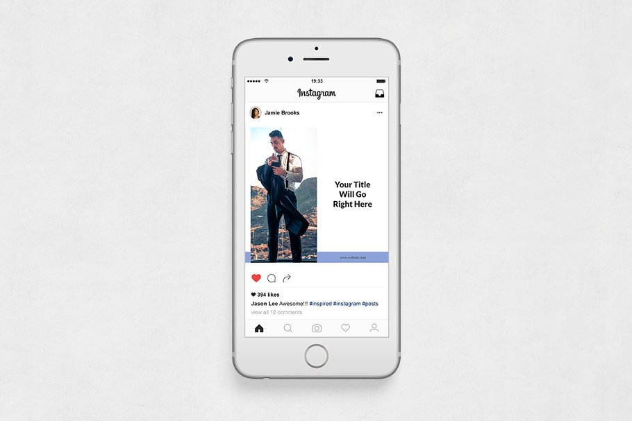 Boss Life Instagram Posts in Instagram Templates - product preview 5