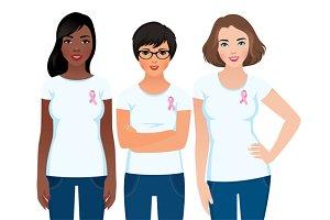 Women activist awareness of cancer