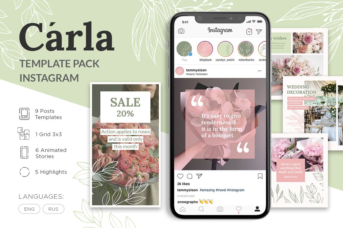 Instagram Template - Carla