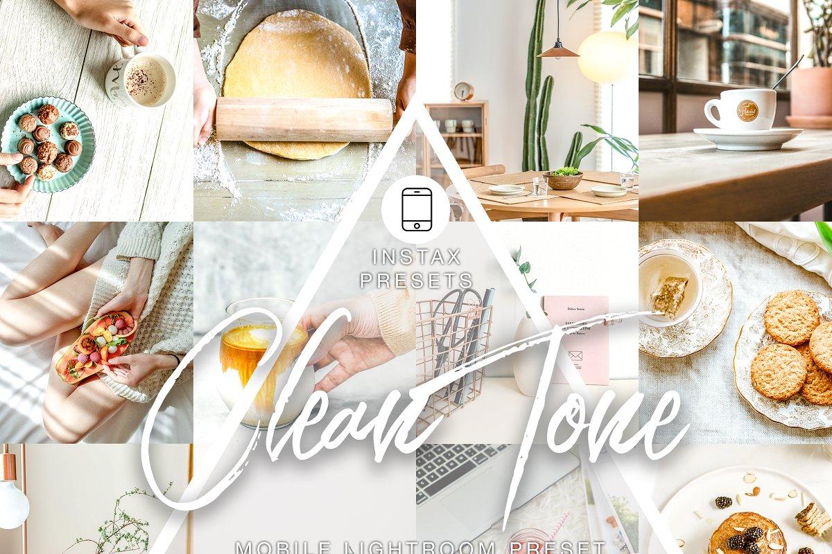 2 Mobile Lightroom - Clean Tone
