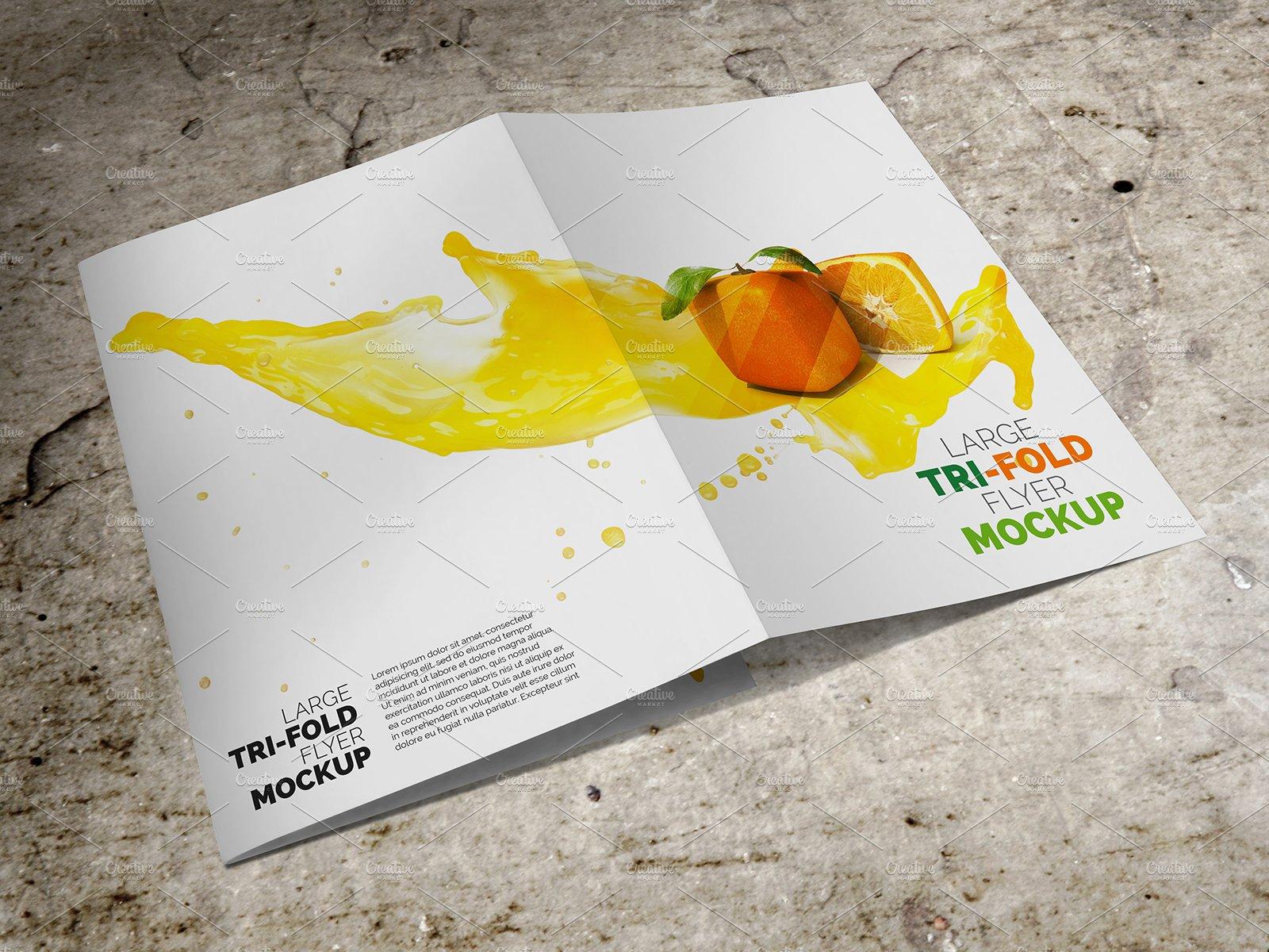 tri fold brochure photos graphics fonts themes templates