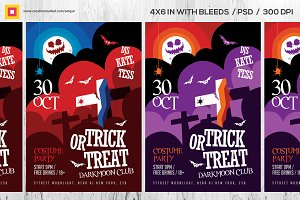 Trick or Treat Party Flyer / Poster