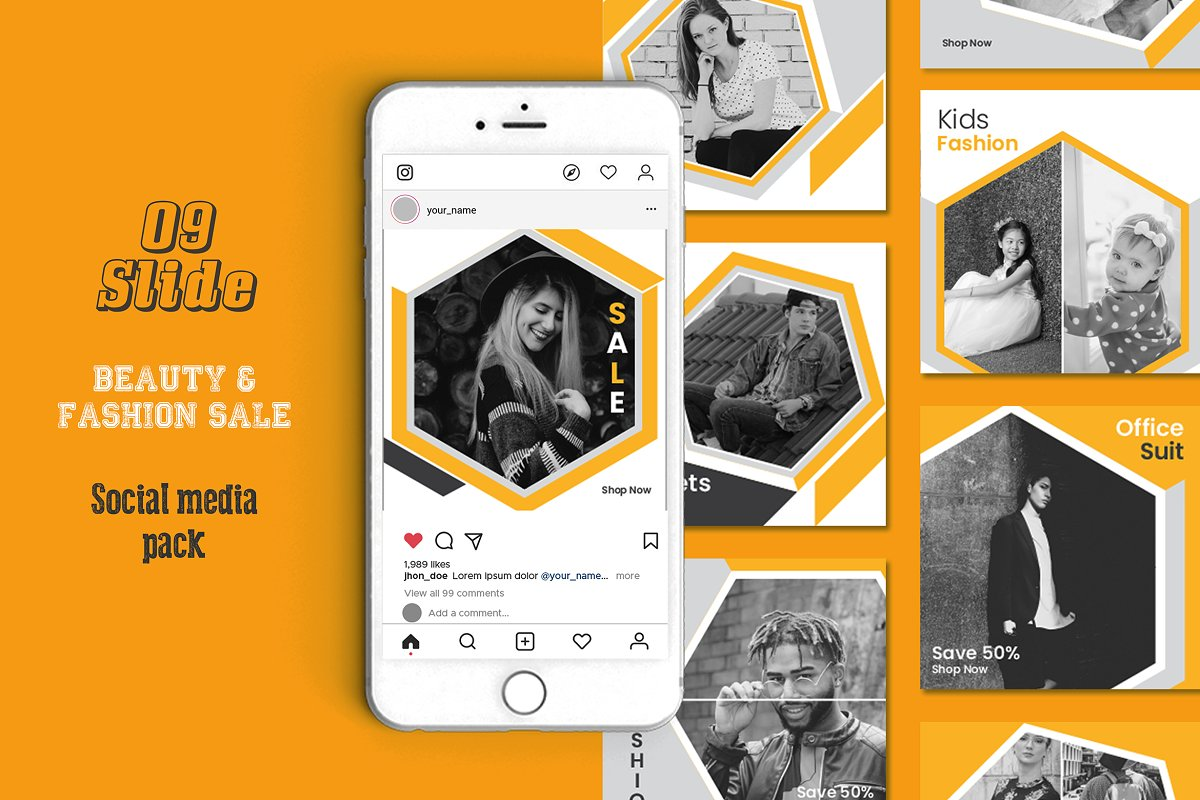 Fashion Social Media Template