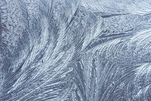 Abstract frosty pattern