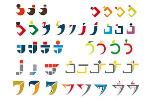 Alphabet letter J
