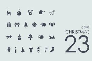 23 Christmas icons