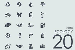 20 Ecology icons