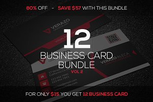 12 Business Card Mini Bundle v2