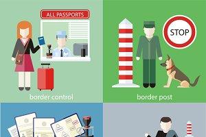 Contraband, Border Control, Post