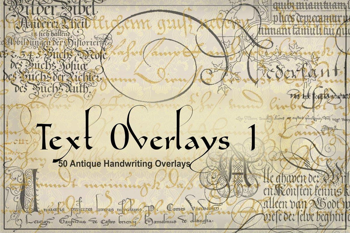 Historic Handwriting Overlays