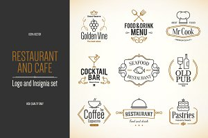 9 Food and Drinks logos