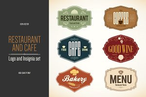 6 Food and Drinks logos
