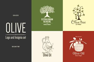 4 Olive logos