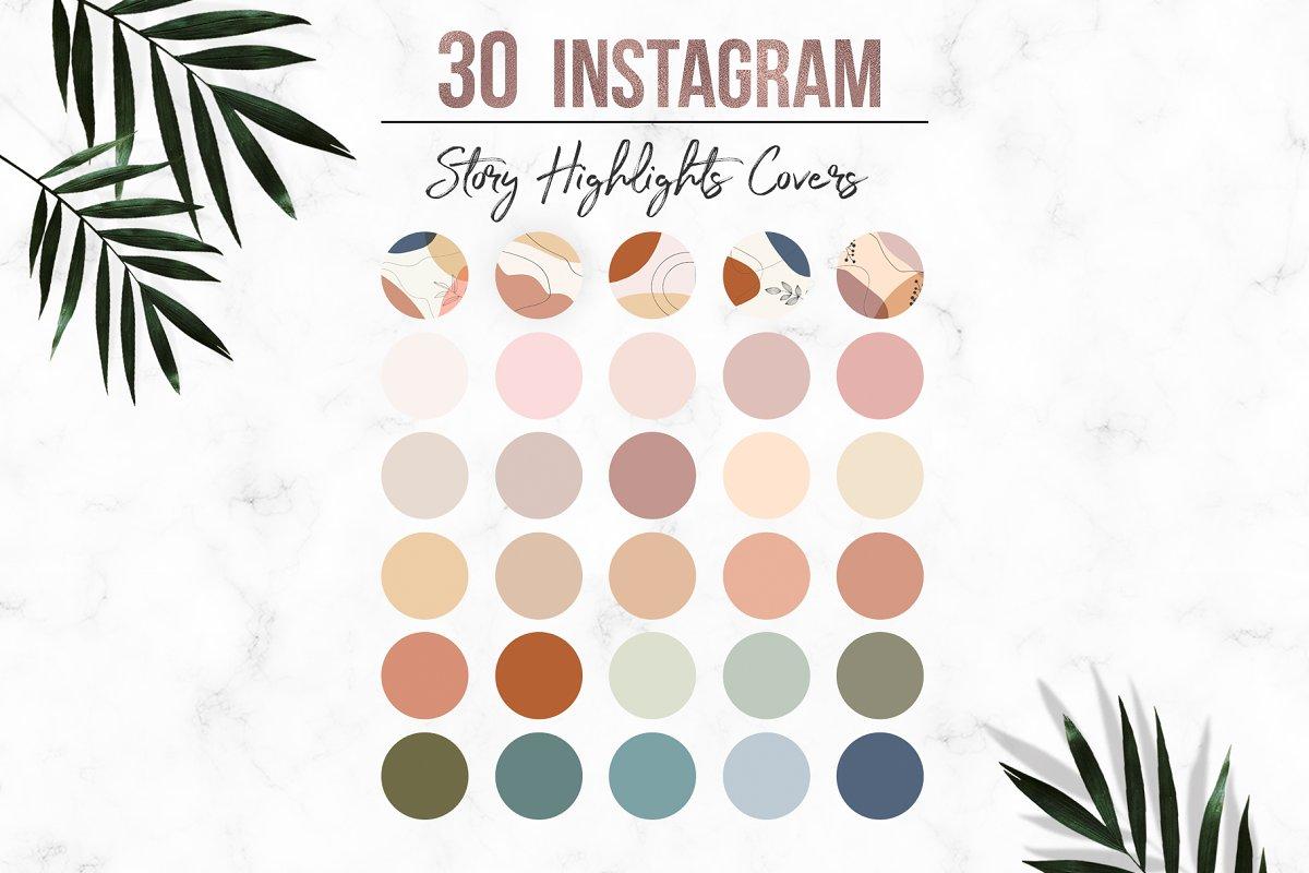 Neutral Instagram Story Highlights