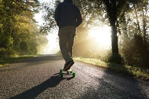 longboard morning