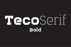 Teco Serif Bold