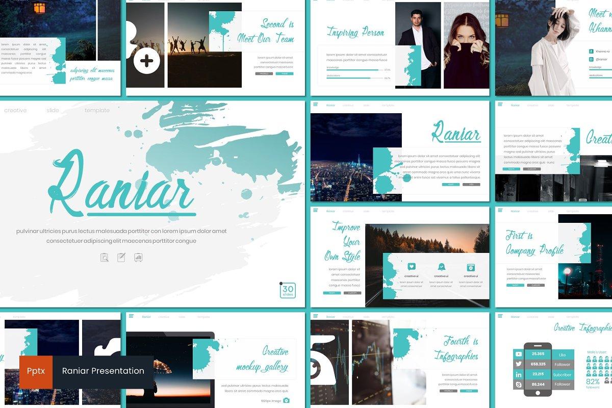 Raniar - Powerpoint Template