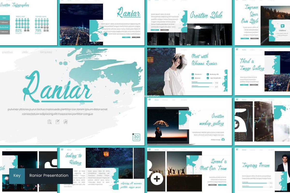 Raniar - Keynote Template