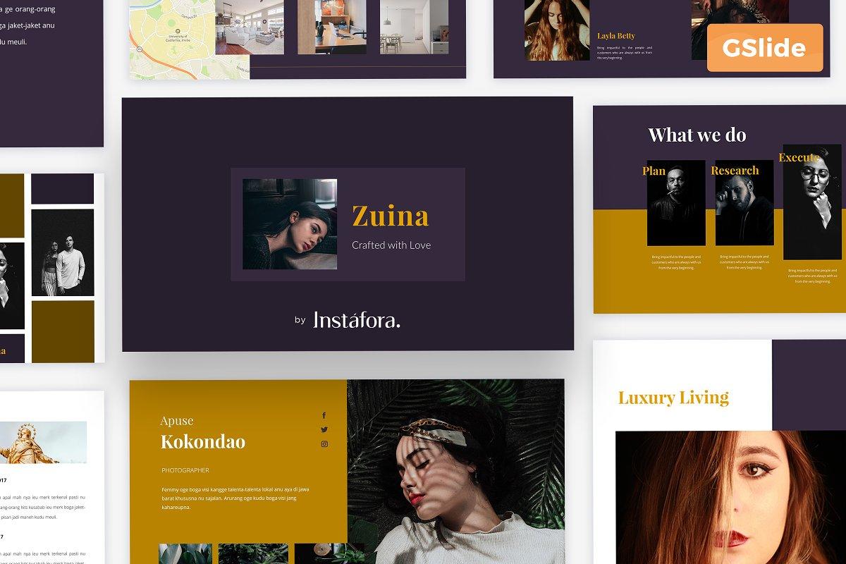 Zuina Google Slide Presentation