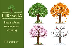 Four seasons set