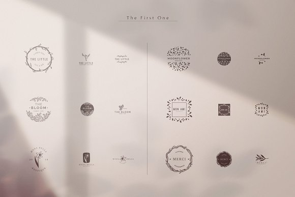SYZYGY Bundle 90 Logos in Logo Templates - product preview 1