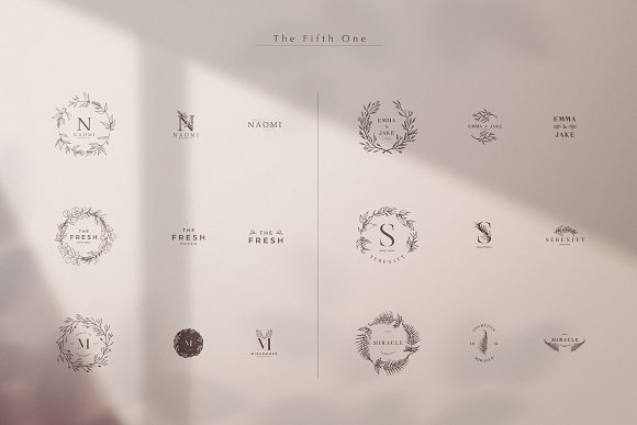 SYZYGY Bundle 90 Logos in Logo Templates - product preview 5