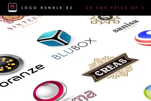30 Logos for price of 1 (vol.3)