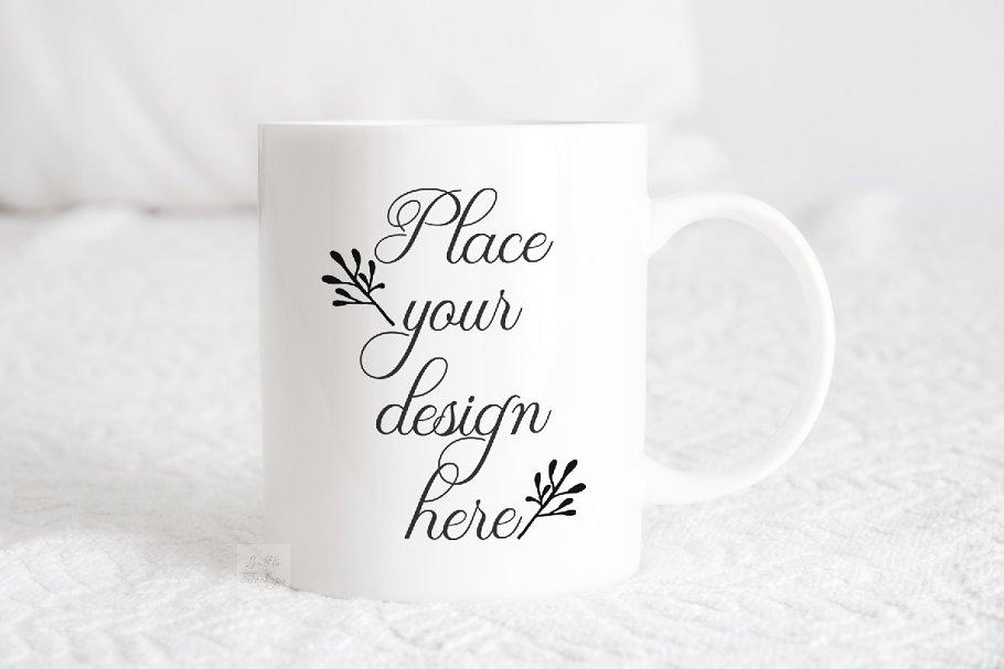 White coffee mug mockup sublimation