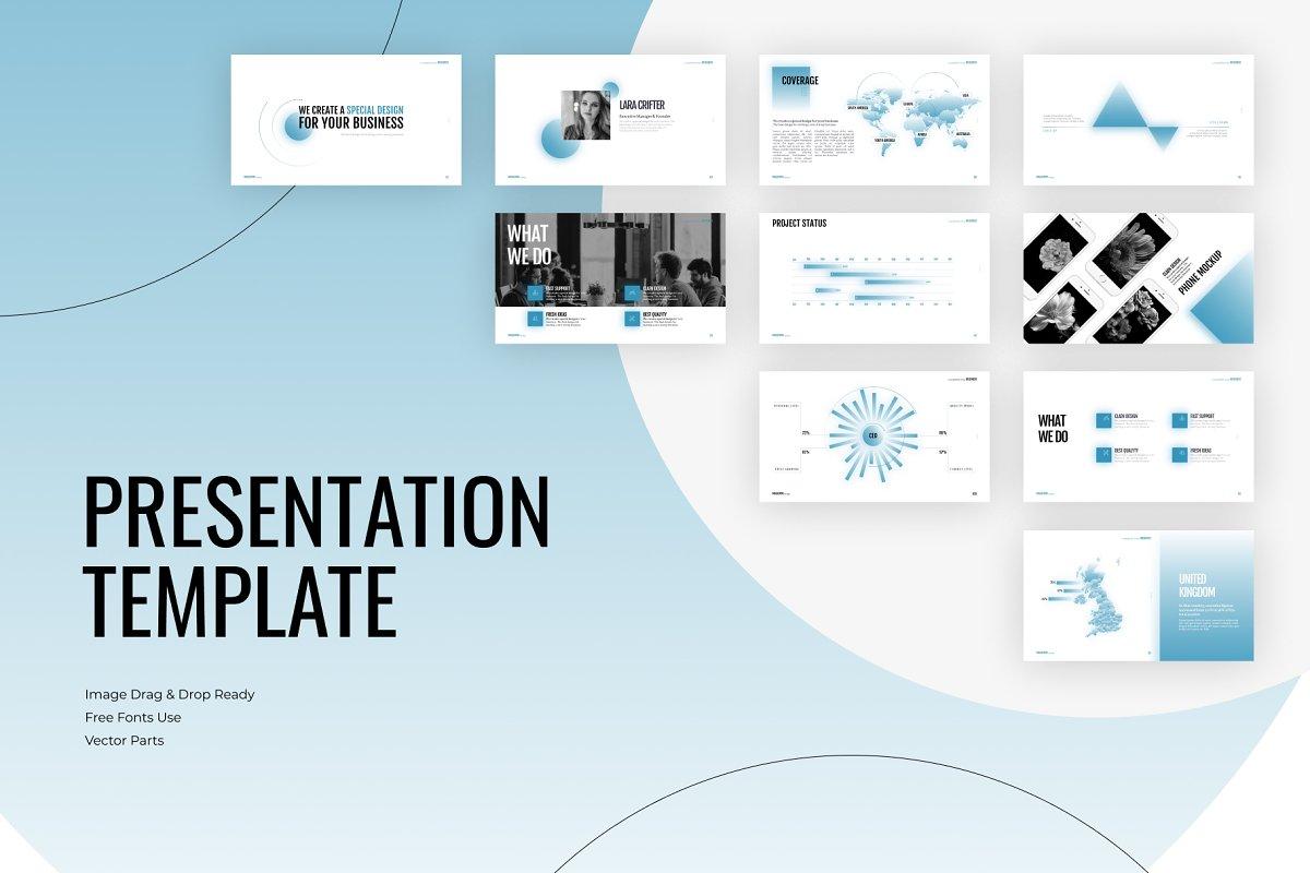 PowerPoint Template - Digital Team