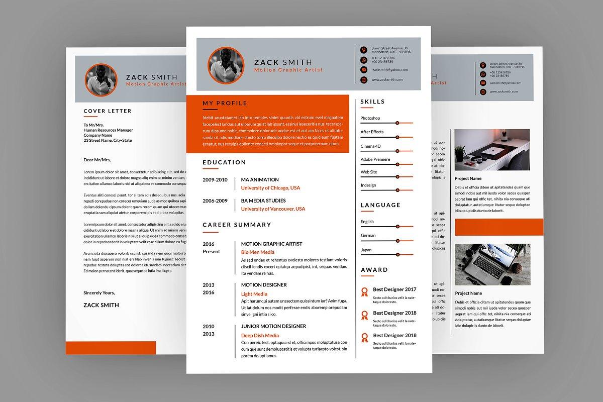 CV Creation Resume Designer