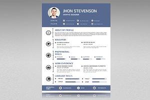 Resume with Cover Letter-V08
