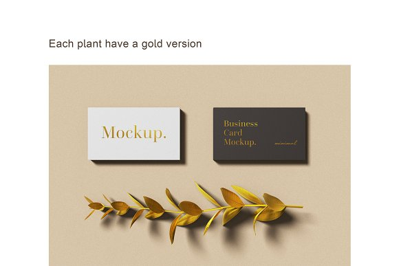 Minimal Business Card Mockup in Branding Mockups - product preview 11