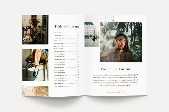 Renwick Ebook   Canva in Magazine Templates - product preview 1