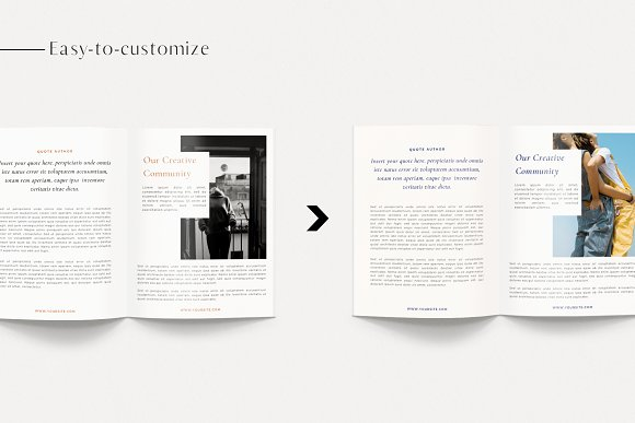 Renwick Ebook   Canva in Magazine Templates - product preview 3