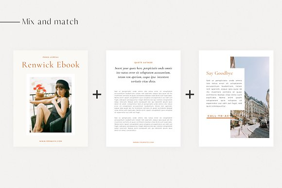 Renwick Ebook   Canva in Magazine Templates - product preview 5