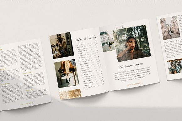 Renwick Ebook   Canva in Magazine Templates - product preview 7