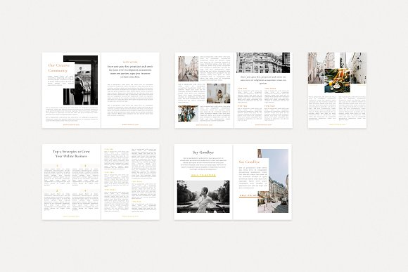 Renwick Ebook   Canva in Magazine Templates - product preview 11