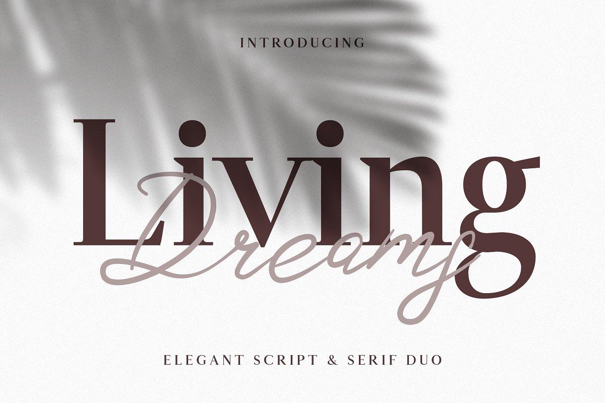 Living Dreams - Serif & Script Font