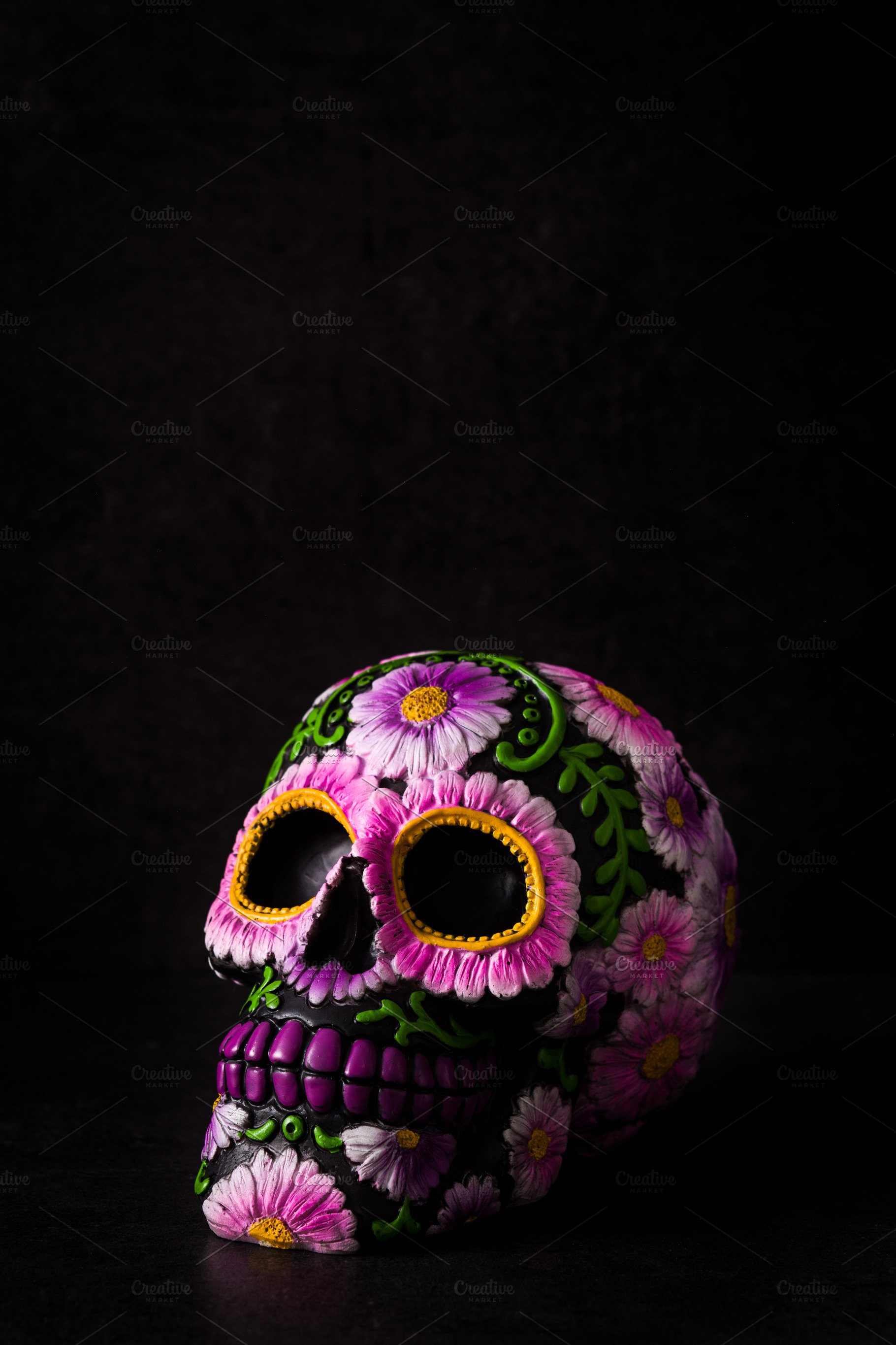 Typical Mexican skull